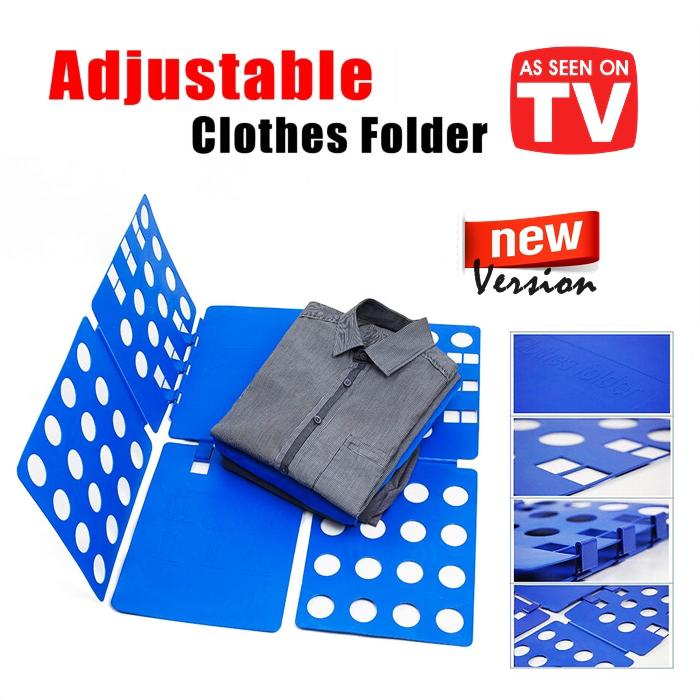 2020 SALE!!! Folding Board Shirt Flip Fold Lazy DIY Fast Clothes Folder Organiser CHEAPEST FAST NEW LOCAL ARRIVAL