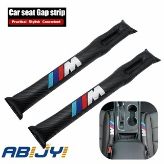 2pcs Carbon Fiber Car Seat Gap Filler box Hand Brake Gap Filler storage PU Leather For BMW M3 M5 e46 e36 f10 e90 f30 f20 e39 x3 x1 x5 e53 E60 E90 E30 E34 F15 F30