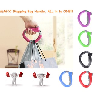 MAGIC Shopping Grocery Bag Handle Holder