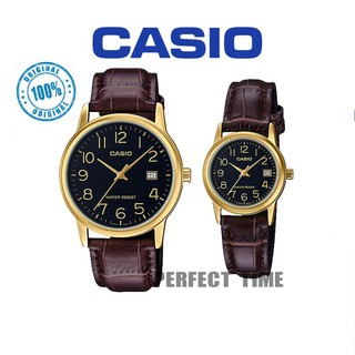 CASIO ORIGINAL MTP-V002GL-1B,MEN, WOMEN,COUPLE (2YEARS WARRANTY)
