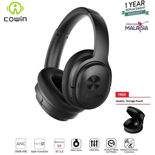 COWIN SE7 Bluetooth Headphone Active Noise Cancelling Bluetooth 5.0 Wireless Headphone