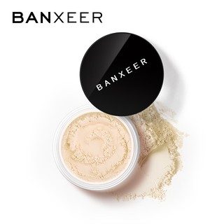 BANXEER Waterproof Finishing Face Powder with Sponge