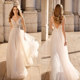Ready Stock Angel Wedding Dress Department Of Vacation Travel Outdoor Beach