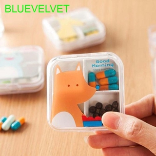 Tablet Container Empty for Healthy Care Food Organizer Cute Plastic Pill Box