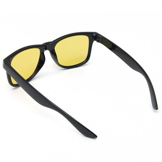 Night Driving Vision Sunglasses Spring Temple Yellow Lens Glasses Protection