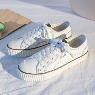 Shopee Recommended2019 Summer New Style Canvas Shoes Retro Sneakers