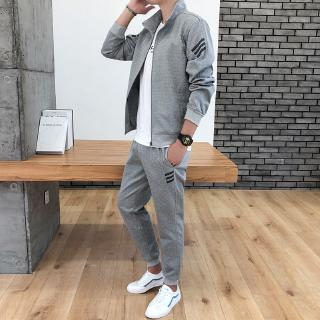 Men's Casual Sports Set 2019trend Students Edition