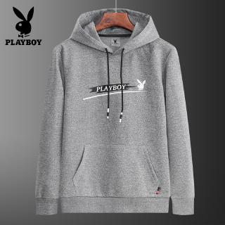 Men's Long Sleeve T-Shirt Cotton Pure Color Casual Hoodie Slim Young Fashion in stock bajumurah grey black red