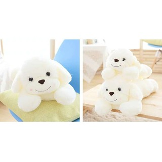 Crouching dog plush toy Xiangxiang dog doll doll cute child sleeping pillow birthday gift girlfriend