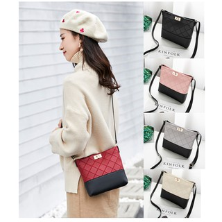 Ready Stock Gabrielle Style Cute Mini Sling Bag Shoulder Handbag Button Type