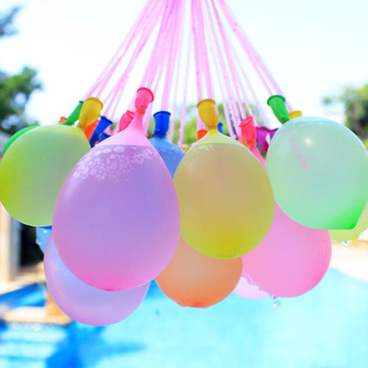 Mixed Color 1 Magic Water Balloons Self Tying Bunch O Balloon Bombs Party Toys