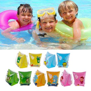 Baby Child Inflatable Swim Pool Swimming Arm Ring Safety Training Float Ring
