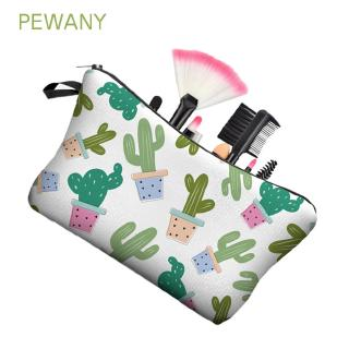 PEWANY Waterproof Travel Cactus Prints Storage Bag Zipper Bag Cosmetic Bag
