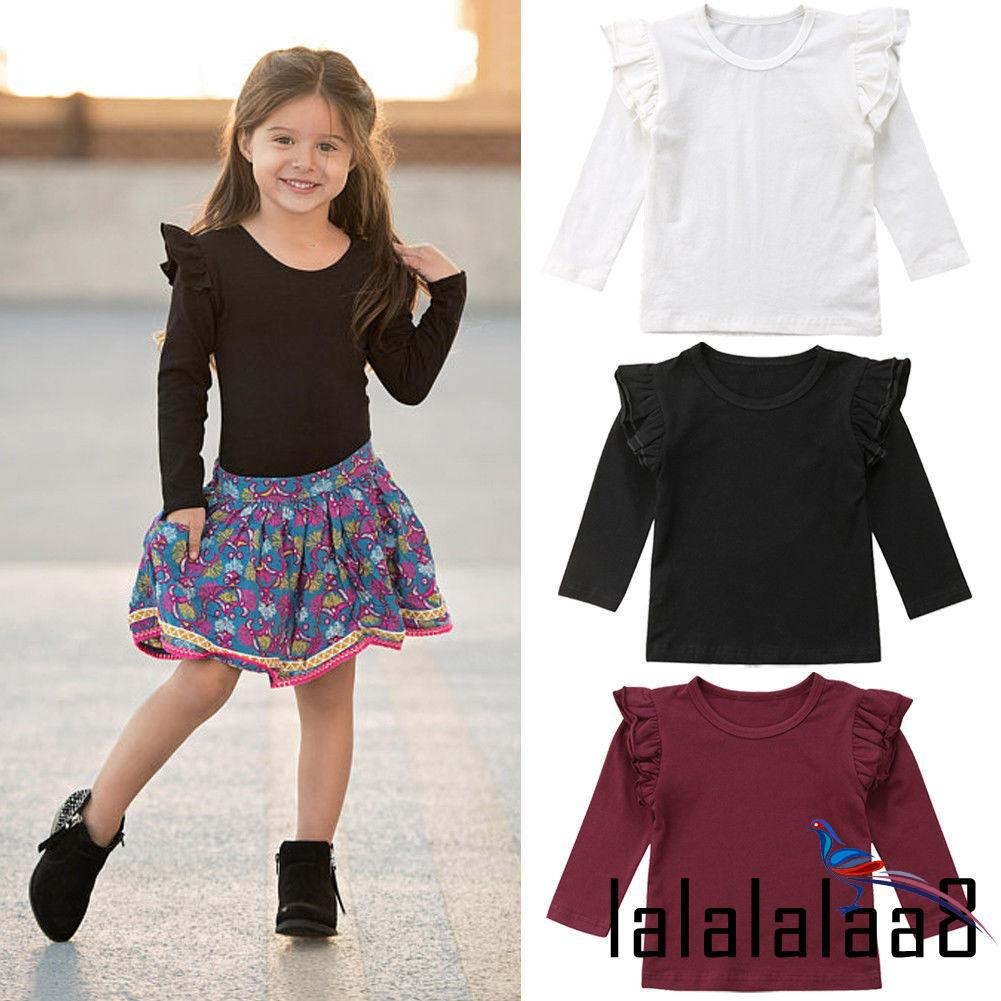 ALL-New Fashion Boutique Toddler Kids Baby Girls Lace Casual Long Sleeve