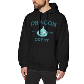 (ready stock) dragon quest hoodie brave dragon hooded men pullover