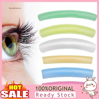 CZGJ6Pairs Reusable Curl Eyelash Patches Lash Perm Rods Lift Stickers Makeup Tools