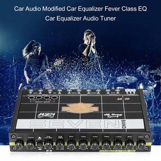 Car Audio Modified Car Equalizer Fever Class EQ Car 7 Equalizer Car Audio Tuner
