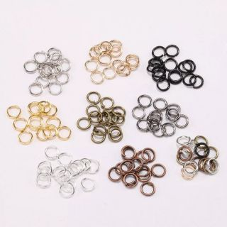 Jumpring.🇲🇾 Ready Stock In Malaysia.200-50pcs.For Beading Jewelry craft.