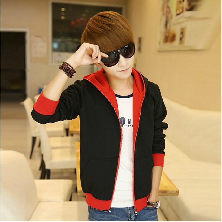 Teenagers'Sanitary Clothes, Men's Slim, Hat, Cardover, Men's Sanitary Clothes and Leisure Coat