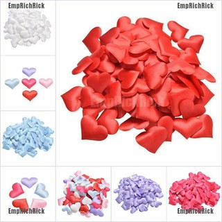 Hot sell 1 Pack Heart Shape Fabric Flower Petals Wedding Party Confetti Table Decoration