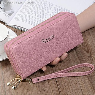 Factory Online Wallet yee mandy poetry 】 【 female long double zipper lady hand bag han edition screens more mobile ph