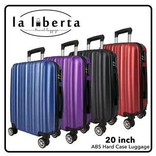 LALIBERTA RC011 20 inch ABS Hard Case Luggage Bagasi