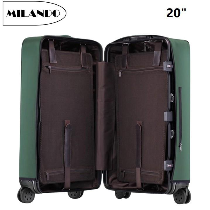 (Size:20/24/28) MILANDO Suitcase Luggage COVER Waterproof Luggage PVC Cover Bagasi (Type 2)