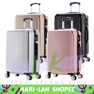 Luggage ABS High Quality 20 / 24 Inch ReadyStock (free gift)