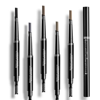 Beginners double eyebrow pencil waterproof anti-perspiration lasting not shading nondiscolouring thrush artifact suit m