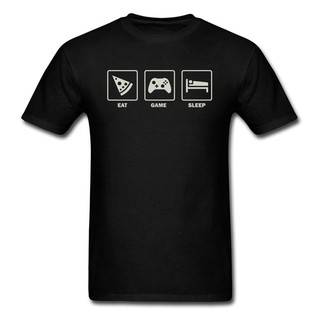 Eat. Game. Sleep T Shirt Tshirts Men T-Shirt Street Tees Young Top Short Sleeve /Fall D Clothes