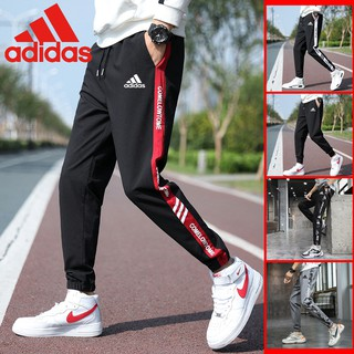 🔥RAYA SALE!!! 🔥Adidas Men's casual pants Sports BASIC JOGGER Pants  SLIMFIT   Fashion trend