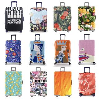 Ready Stock Luggage Dust Proof Cover Elastic Travel Suitcase Bag Case Luggage Protector Cover