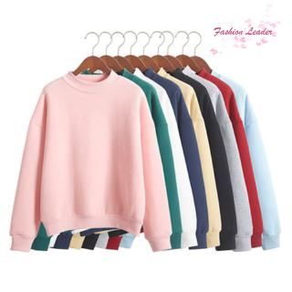 READY STOCK Women Casual Long Sleeve Hoodie Sweatshirt Jumper Pullover Thick Hoody Tops