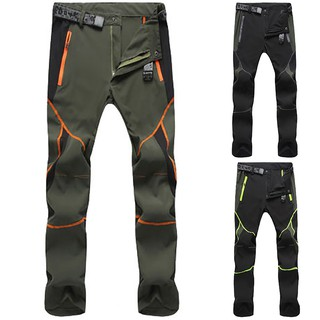 Mens Tactical Cargo Pants Outdoor Hiking Climbing Quick Dry Water Resistance