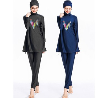 Women Burkini Muslim Hijab Swimsuit Islamic Full Coverage Swimwear Burqini
