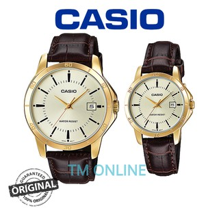Casio V004GL Couple Men's Women's Analogue Casual with Box