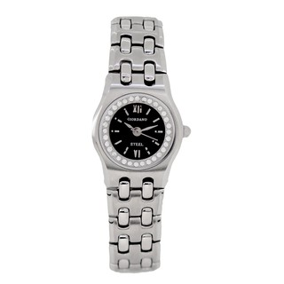 Giordano Women's Stainless Steel + Water Resistant Watch L3232SS-BK