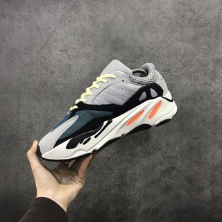 Original real boost edition Adidas Yeezy Wave Runner 700 boots