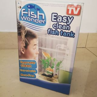 Fish Wonder Easy clean fish tank