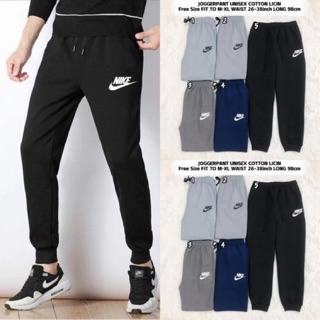 Nike Jogger Pants Cotton Tebal Unisex