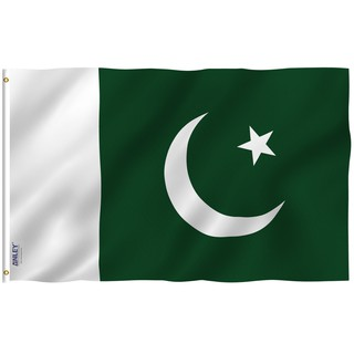 anley-basky flag 90x150cm 3x5 ft pakistan flag