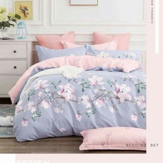 New Style 800-1200 Knitted Sheets/Comforter Set, 5-1 Queen and King Size