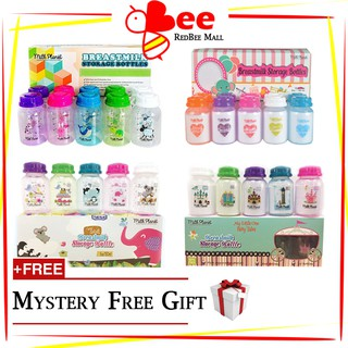 Milk Planet Breastmilk Storage Bottle [Standard Neck 10 Bottles 1 Box]