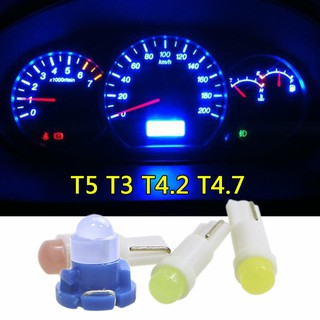 1pcs T5 T4.7 T4.2 T3 SMD Wedge Instrument Dashboard Car Meter LED Light Bulb Motorcycle light