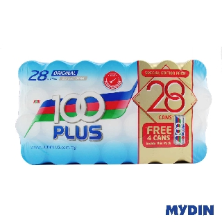 100 Plus Regular (28 Cans x 325ml)