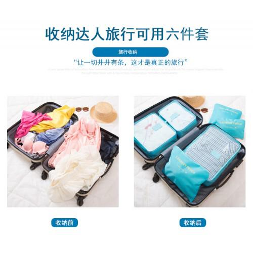 Travelling 6pcs Organizer Storage Bag