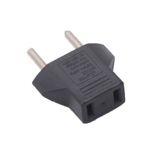 EGY New 1pcs Travel Adaptor Plug Charger Converter US/USA to EU/EURO Adapter