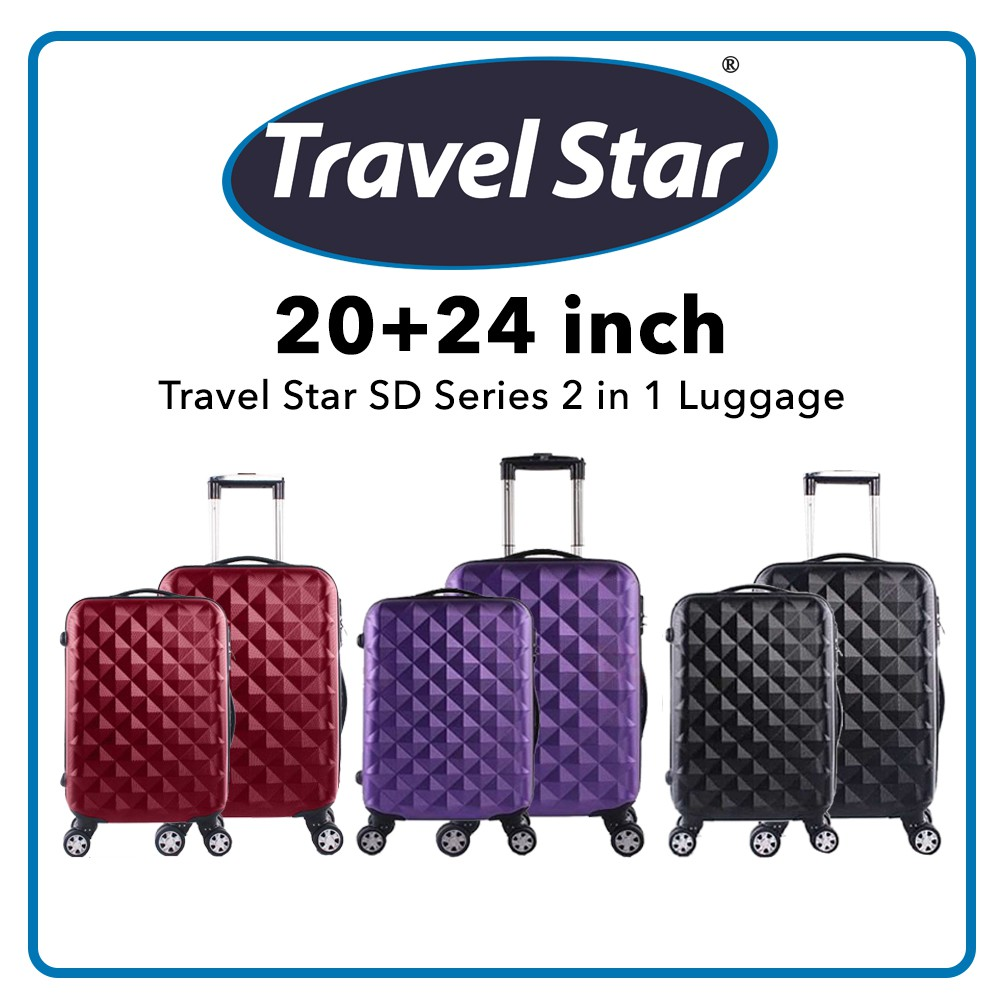 Travel Star SD Series 2 in 1 Luggage Set