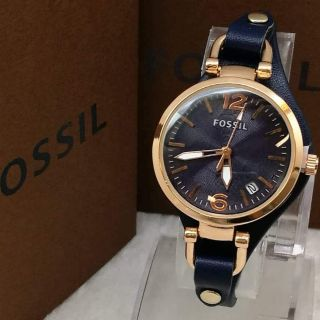 Fossil Leather Ladies Watch ❤🔥⌚❤🔥⌚i