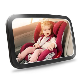 [Little B House] 360 Adjustable Safety Car Seat Mirror for Rear Facing Infant with Wide Clear View - BS03